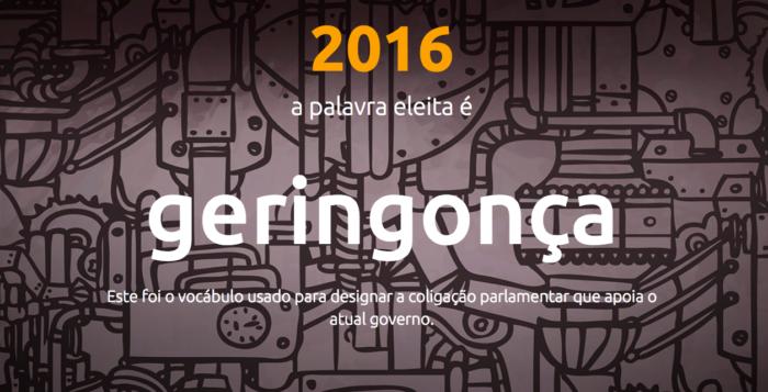 Woord van Jaar 2016 in Portugal: Krakkemikkig apparaat