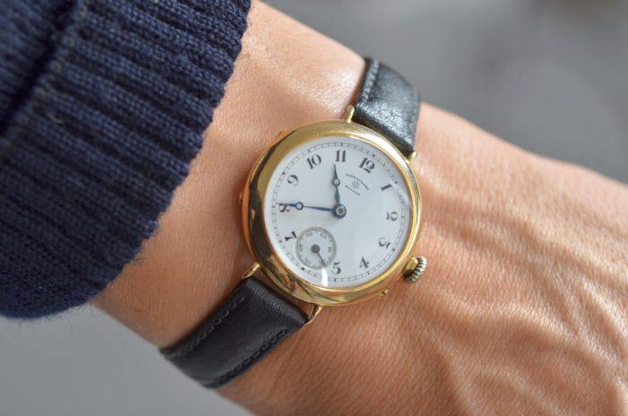 horloge om pols