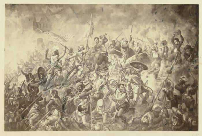 Alva's bestorming van Alkmaar in 1573